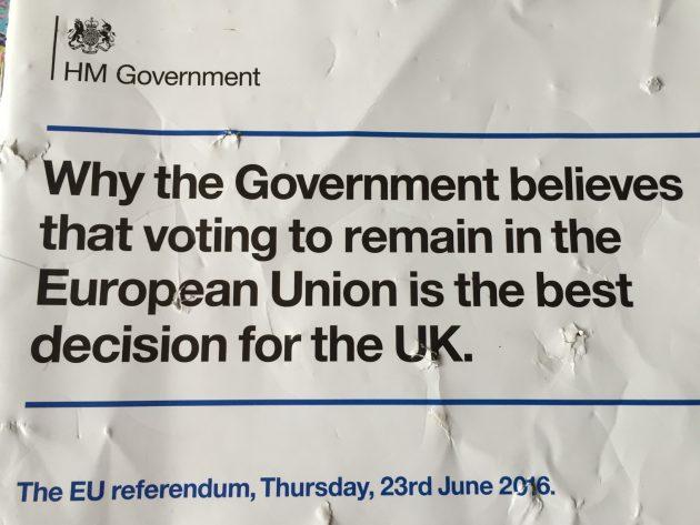 EU Leaflet damaged...