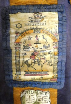 An Orange Sash from LOL 1595 Templemichael, County Longford