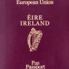 irish passport cover