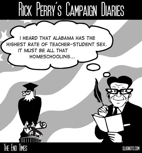 Rick Perry's Campaign Diaries #2
