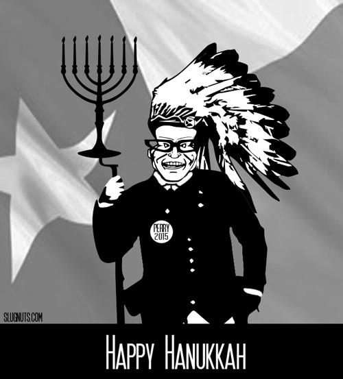 Rick Perry's Happy Hanukkah
