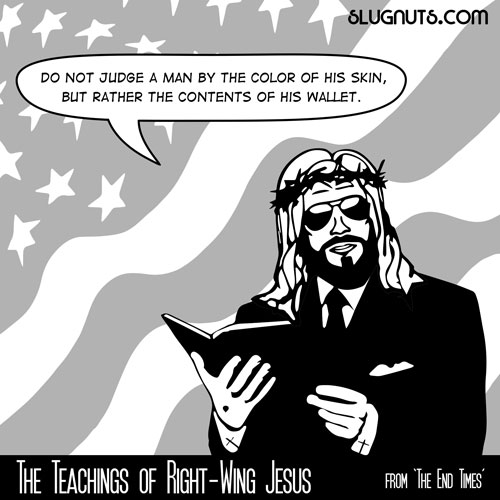 The Teachings of Right-Wing Jesus #2