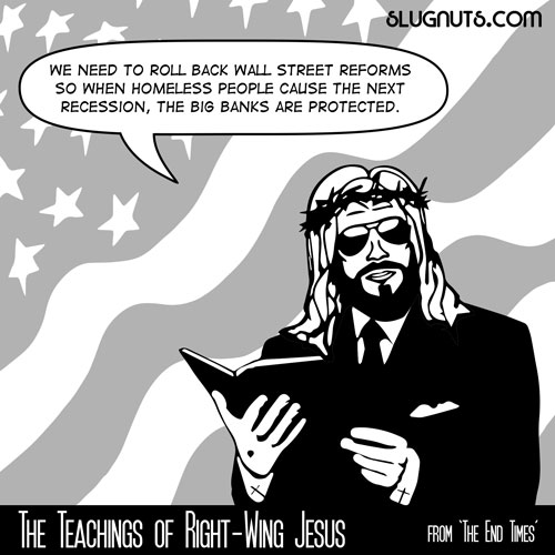 The Teachings of Right-Wing Jesus #6