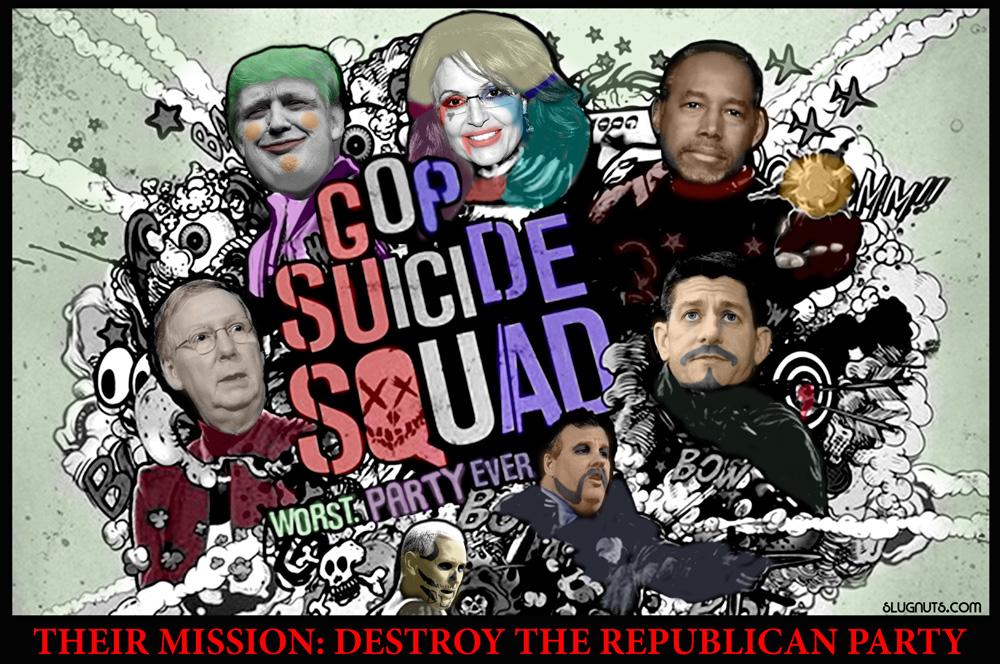 GOP Suicide Squad