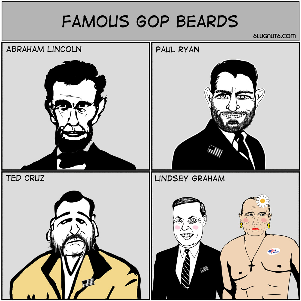 Famous GOP Beards