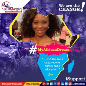SLUM2SCHOOL - 2105 - Joy