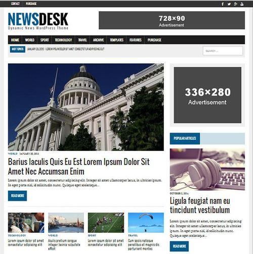 mh newsdesk responsive theme 2015