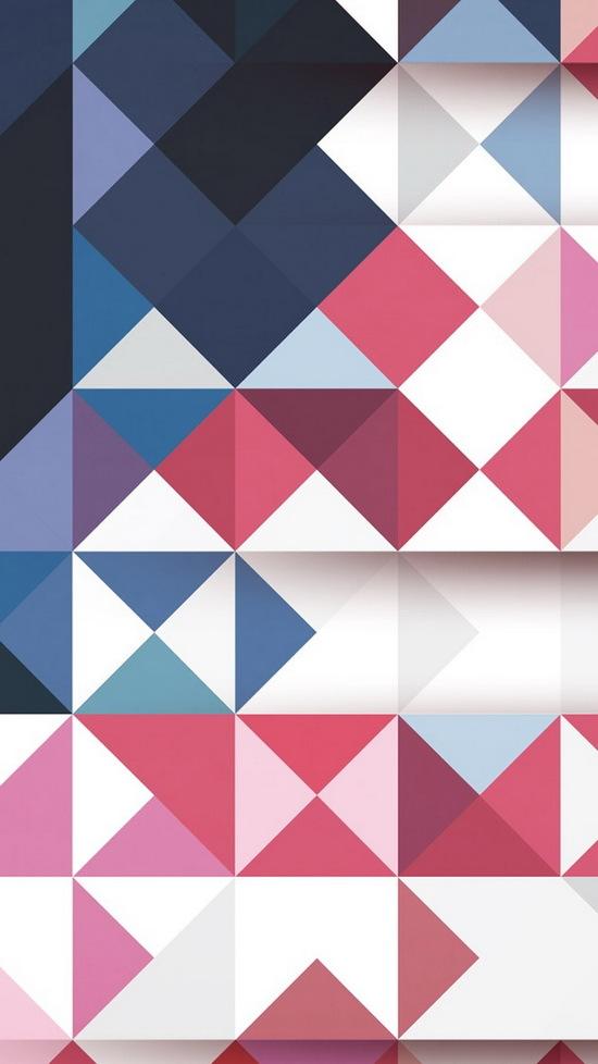 geometric grid iphone 6 wallpaper