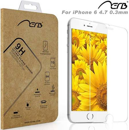 aerb tempered glass screen protector for iphone 6/6s