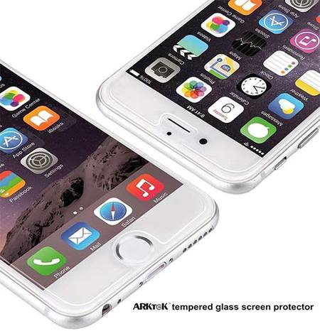 arktek iphone tempered glass screen protector