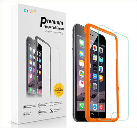 otium tempered glass screen protector