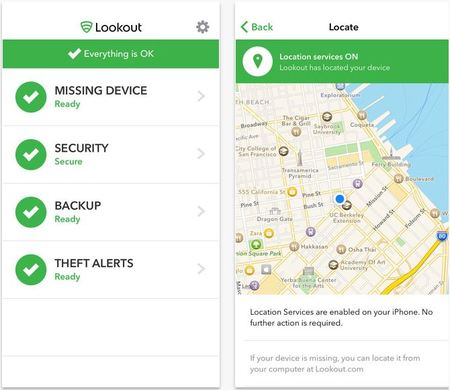 lookout antivirus app for iphone
