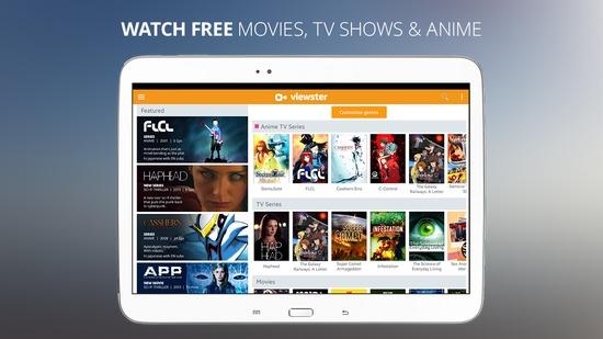 viewster movies tv anime free