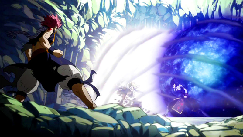 Natsu vs. The Twin Dragons