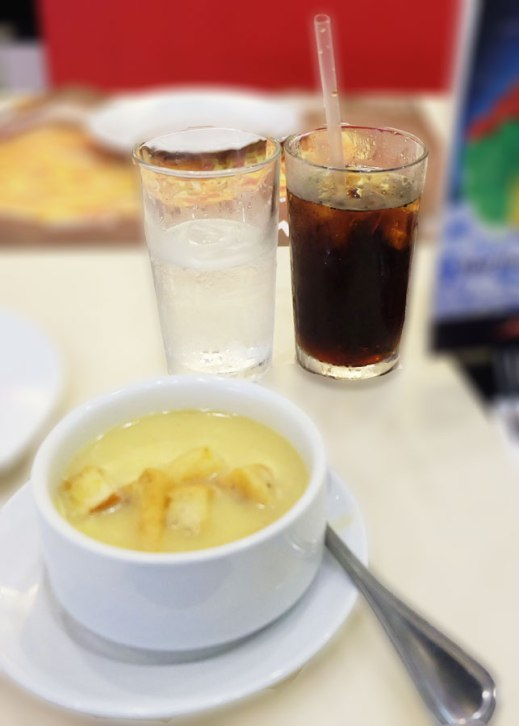 soda and soup