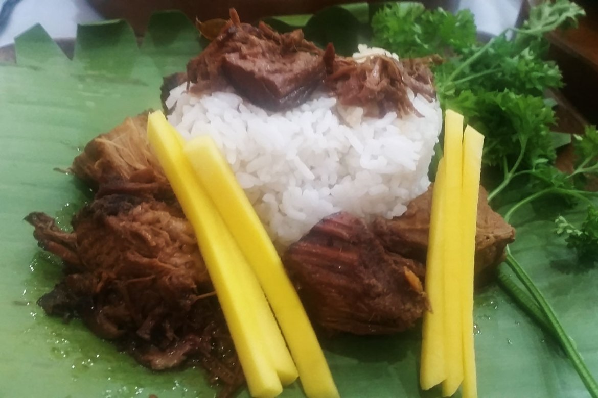 The Oinkery's Pugon Smoked Pork Adobo