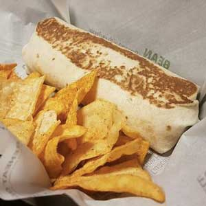 Taco Bell Quesarito meal