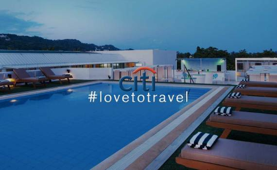 #lovetotravel with Citi