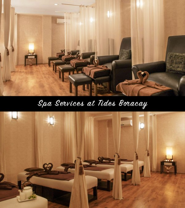 Spa Services at the Tides Hotel Boracay