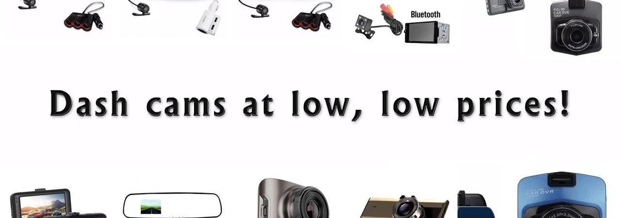 price drop on dash cams at Lazada