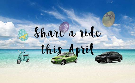 April ridesharing