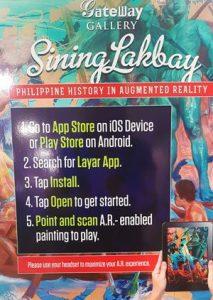 Sining Lakbay