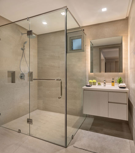 Ascott Citadines Millenium bathroom