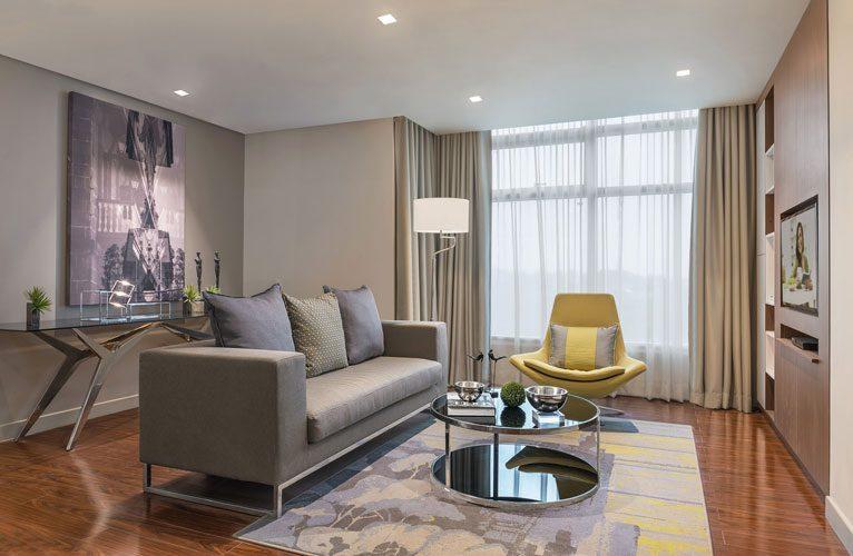 Ascott Citadines Millenium living room