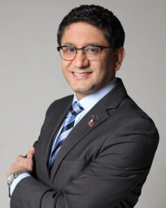 Rahul Hora, President and CEO of AXA Philippines