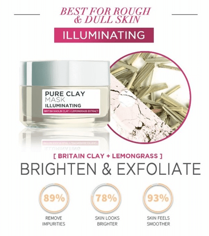 Pure Clay Mask Illuminating