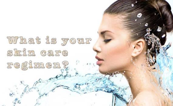healthy diet + adequate sleep + a good skin regimen = healthy, beautiful skin