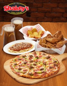 Shakeys group meal