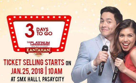 3 days to go platinum karaoke kantahan 2018