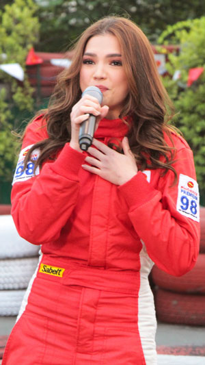 Rhian Ramos, actress and car racer