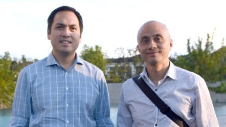 Paolo Pineda and Ernie Lopez