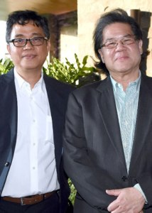 Rommel Abad and Andy Locsin of Leandro V. Locsin Partners