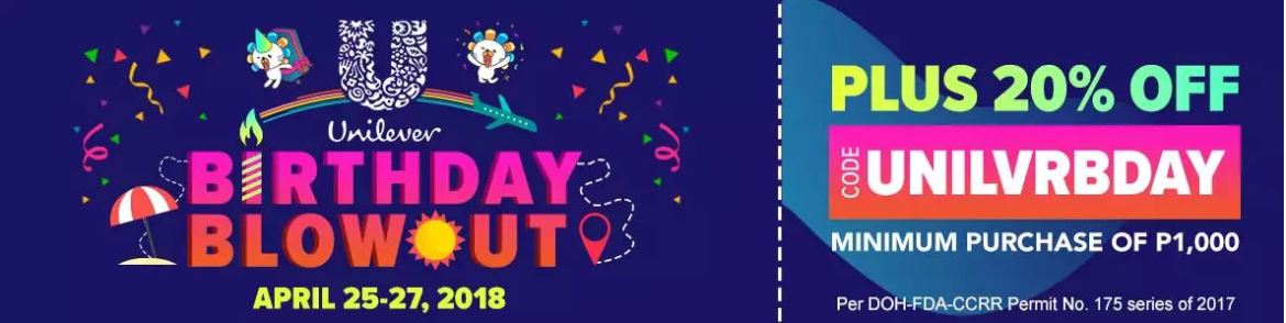 Unilever birthday blowout