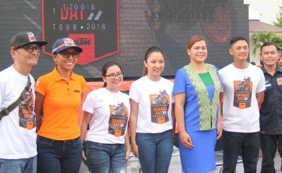 Mayor Sarah Duterte at KTM Dukehana event