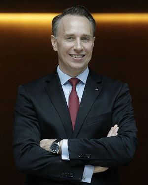 Thomas Buberl, AXA CEO