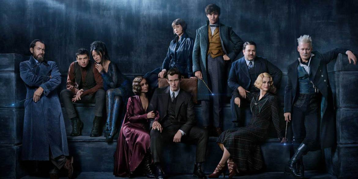 The cast of Fantastic Beasts