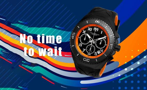 Technomarine's No time to wait movement