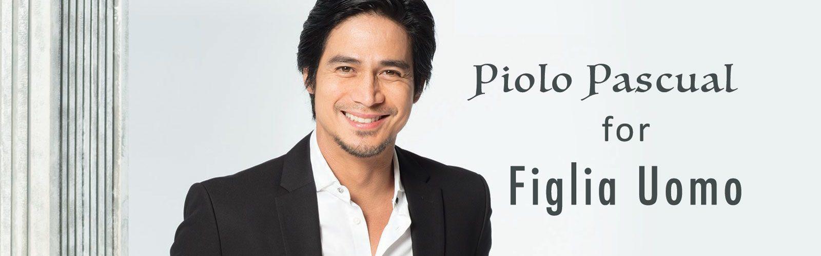 Piolo Pascual, brand ambassador for Figlia Uomo