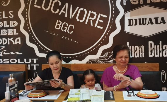 Locavore BGC with the family