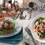 Tuna Recipes for Lent Part 3: U.S. and Italy