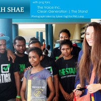 Beckah Shae is in PNG