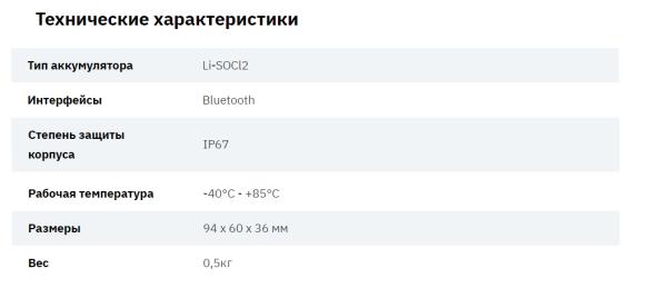 Температурный датчик