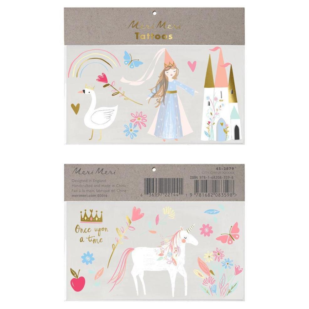 переводные татуировки Princess Unicorn