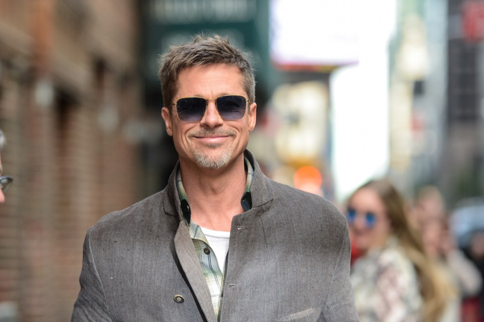 Image result for Single dad Brad Pitt starts 'casual' dating, uses his real name while flirting