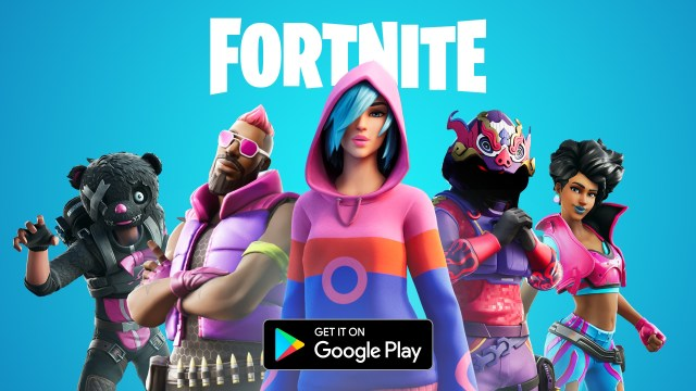 Fortnite online gme Google Play Store mein available hai.