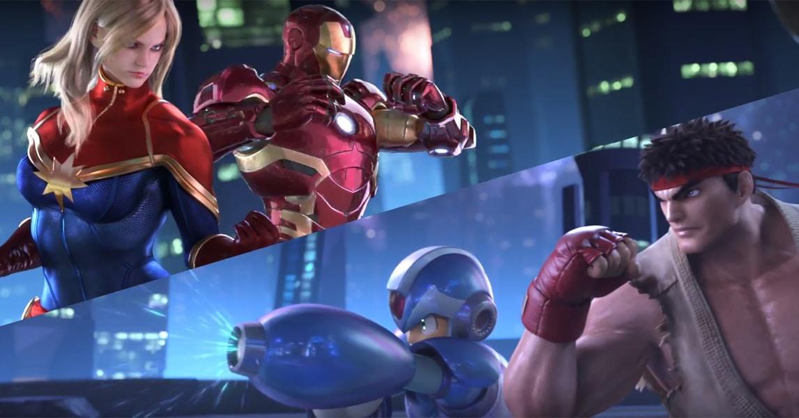 Resultado de imagem para Marvel vs. Capcom: Infinite
